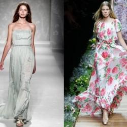 Zarif Maksi Elbise Modelleri