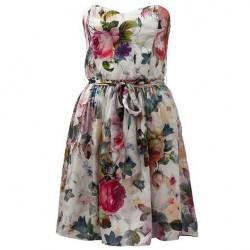 Çiçekli Yeni Mevsimlik Elbise Modelleri