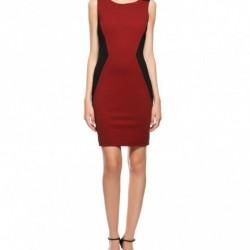 Bordo Yeni Sezon Koton Elbise Modelleri