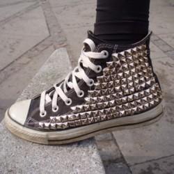 Converse Zımbalı Ayakkabı Modelleri 2014