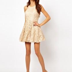 Dantelli Kurban Bayramı İçin Elbise Modelleri