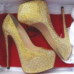 Dore Parlak Topuklu Ayakkabı Modelleri