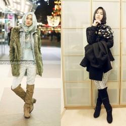 Farklı Kışlık Tesettür Modası