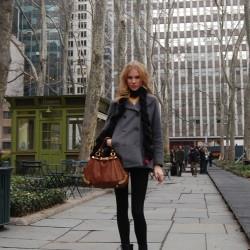 Kışlık New York Sokak Modası