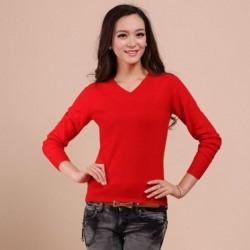 Kırmızı Renkli Kazak Modelleri