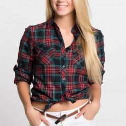 Kareli Yeni Defacto Gömlek Modelleri