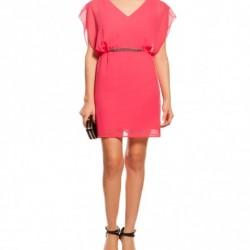 Pembe Yeni Sezon Koton Elbise Modelleri