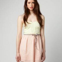 Renkli Bershka Elbise Modelleri