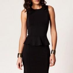 Siyah Kurban Bayramı İçin Elbise Modelleri