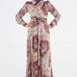 Tesettür Yeni Mevsimlik Elbise Modelleri