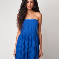 Şık Mavi Elbise Modelleri