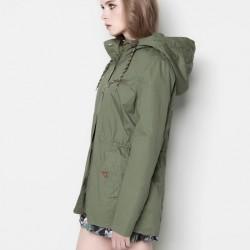 2014 Haki Yeşili Ceket Modelleri