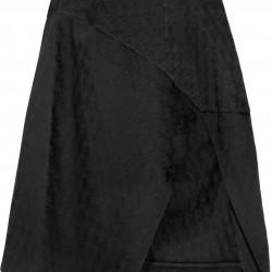 Asimetrik Kesimli 2015 Siyah Etek Modelleri