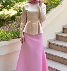 Dikkat Çekici Bayramlık Tesettür Elbise Modelleri