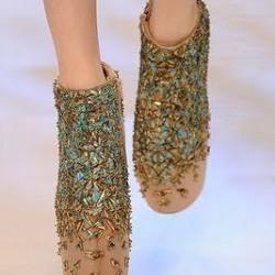 Gösterişli 2014 Taşlı Ayakkabı Modelleri