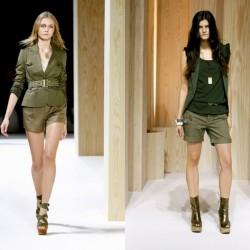 Gösterişli Haki Yeşili Ceket Modelleri