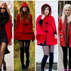 Kırmızı 2015 Kaban Modelleri