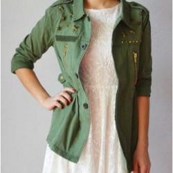 Kullanışlı Haki Yeşili Ceket Modelleri