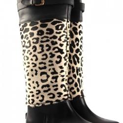 Leoparlı Yağmur Çizmeleri
