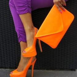Turuncu Neon Ayakkabı Modelleri