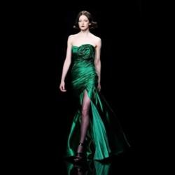 Yeşil Drapeli Elbise Modelleri