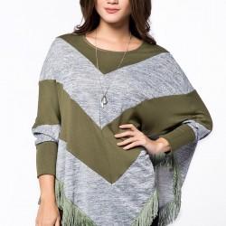 Şık Panço Kışlık Giyim Modelleri
