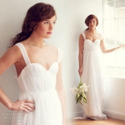 Askılı 2014 Sarah Seven Gelinlik Modelleri