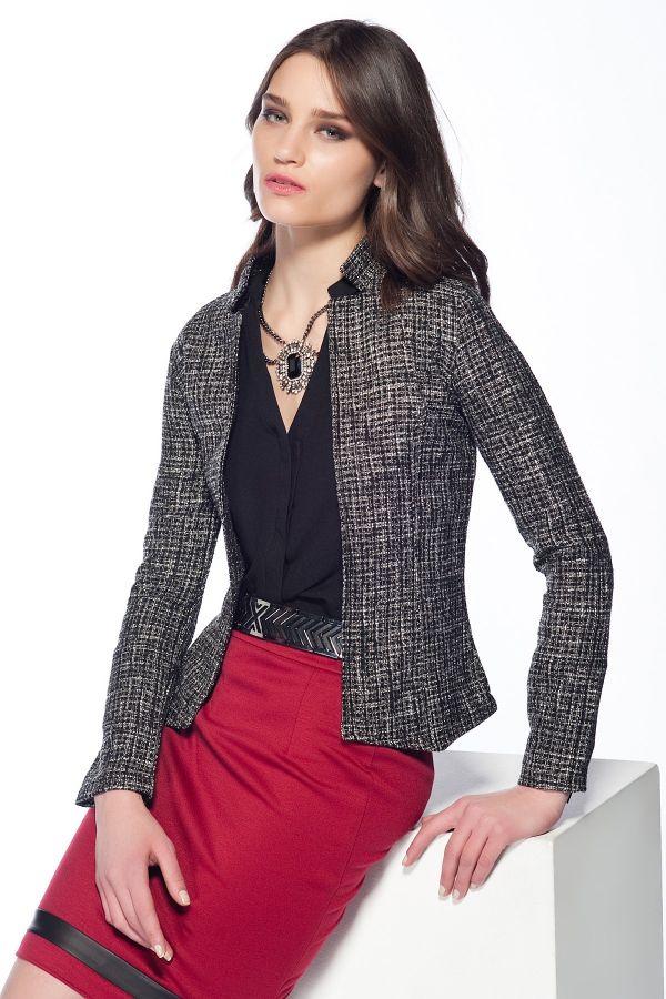 Ceket ve Etek Şık Kombin Türleri