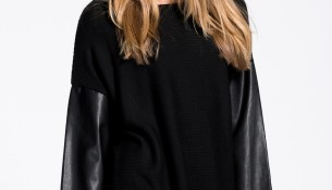 Kolları Deri Detaylı Yeni Sezon Tunik Modelleri