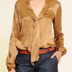 Mango Yeni İpek Bluz Modelleri,