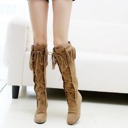 Püsküllü Çizme Modelleri