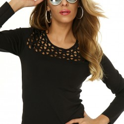 Siyah Bluz Sense Yeni Sezon Modelleri