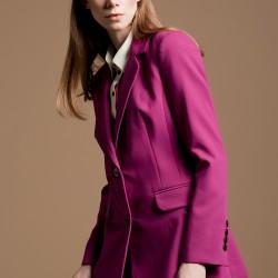 Fuşya Ceket Yeni Sezon Versace Modelleri