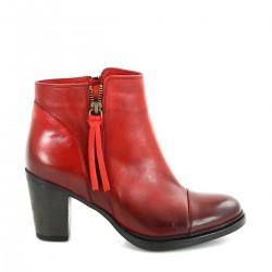 Kırmızı Bot GÖN Ayakkabı Modelleri
