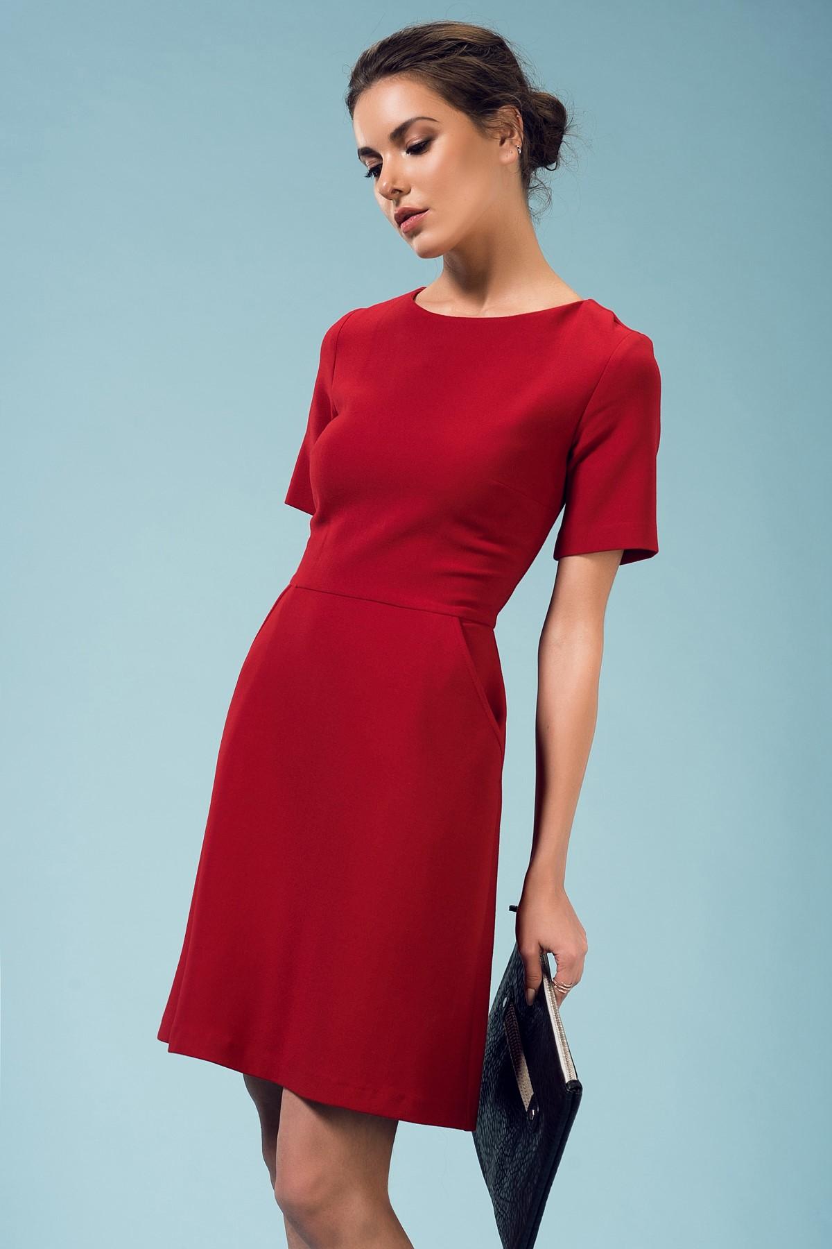 Kırmızı Elbise Yeni Sezon adL Modelleri