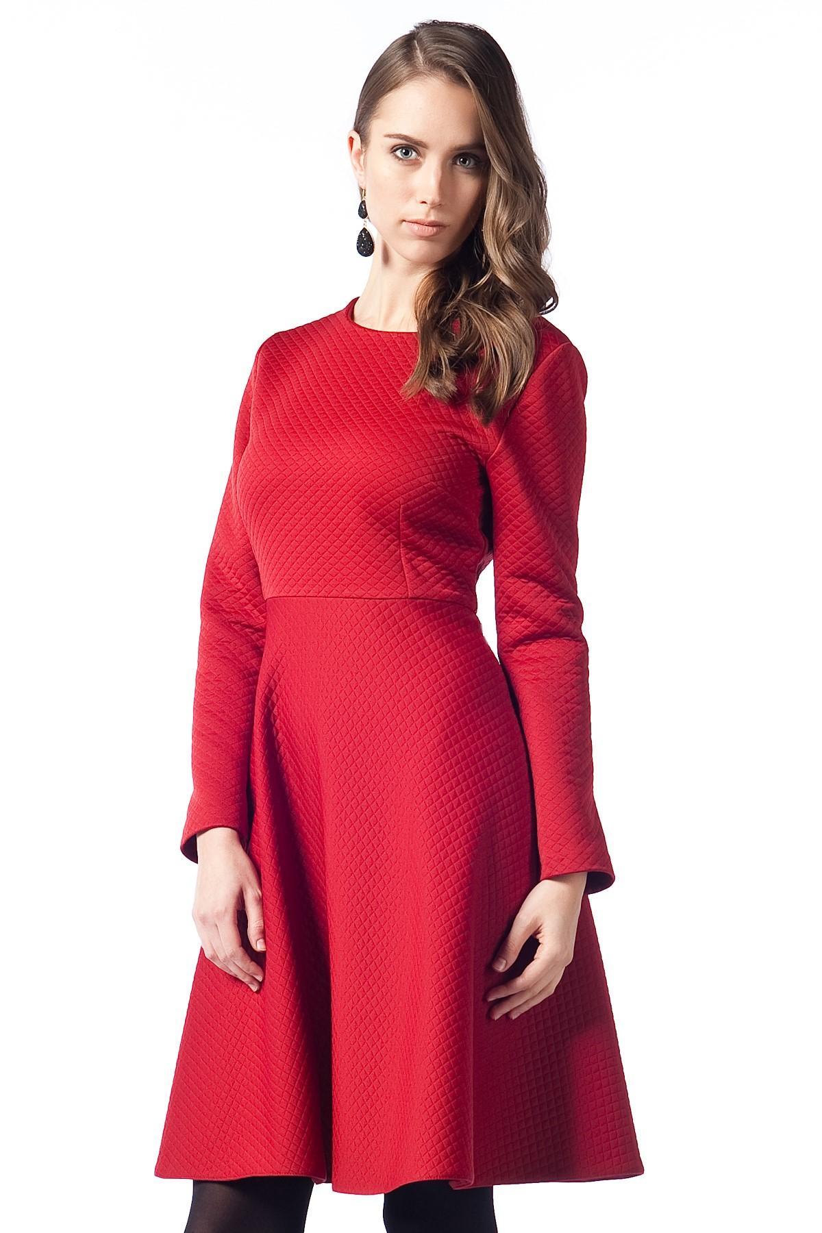 Kırmızı Gönül Kolat Tunik Modelleri