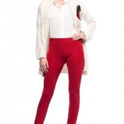 Kırmızı Tayt Yeni Sezon Lady Q Modelleri