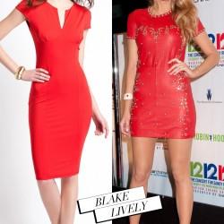 Kırmızı Yılbaşı Elbiseleri