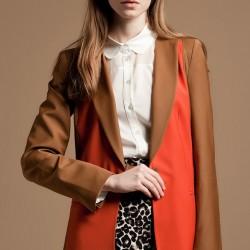 Karamel Ceket Yeni Sezon Versace Modelleri