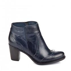 Lacivert Bot GÖN Ayakkabı Modelleri