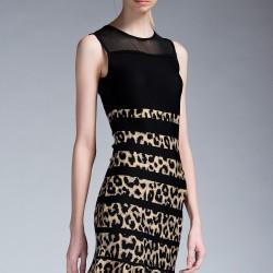 Leopar Desenli Elbise Yeni Sezon İpekyol Modelleri
