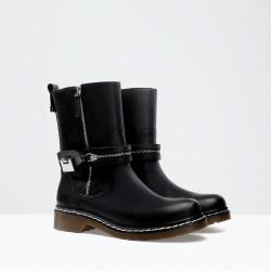 Siyah Bot 2015 Kışlık Ayakkabı Modelleri