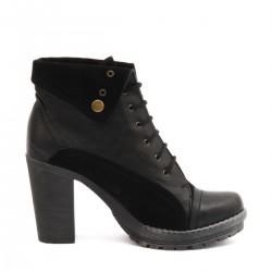 Topuklu Siyah Bot Beta Ayakkabı Modelleri