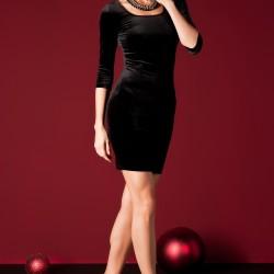Yeni Sateen Elbise Modelleri