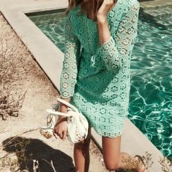 Çiçek Figürlü Elbise Juicy Couture 2015 İlkbahar Koleksiyonu