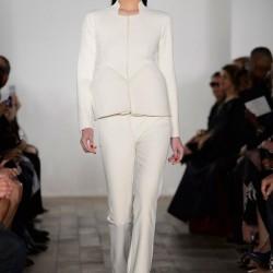 Beyaz Takım Zac Posen 2015 İlkbahar - Yaz Koleksiyonu