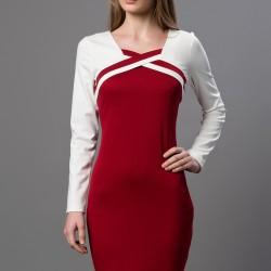 Bordo Elbise 2015 Versace 19.69 Modelleri