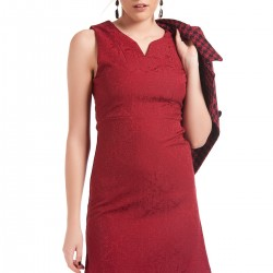 Bordo Elbise Perrylook 2015 Modelleri