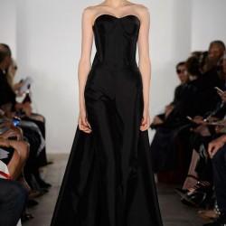 Kalp Yaka Elbise Zac Posen 2015 İlkbahar - Yaz Koleksiyonu