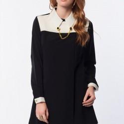 Kolyeli Siyah 2015 Tunik Modelleri